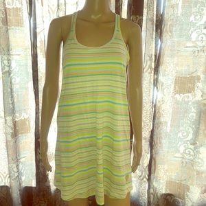 Victoria's Secret Striped racerback nightgown